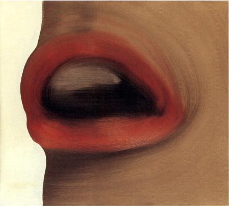 Mund / Mouth (Brigitte Bardot's Lips) - GerhardRichter