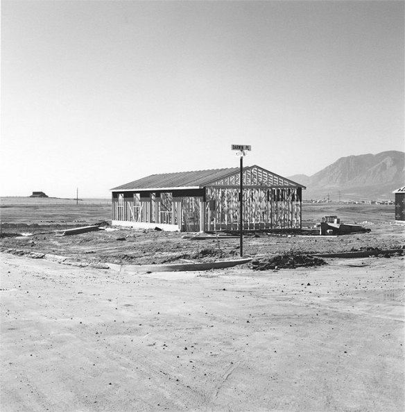 Robert Adams_Frame for a Tract House