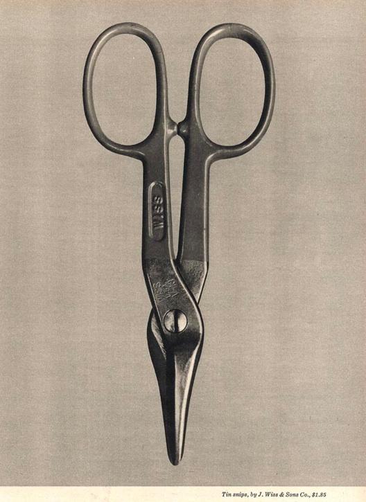 Tin Snips - Walker Evans