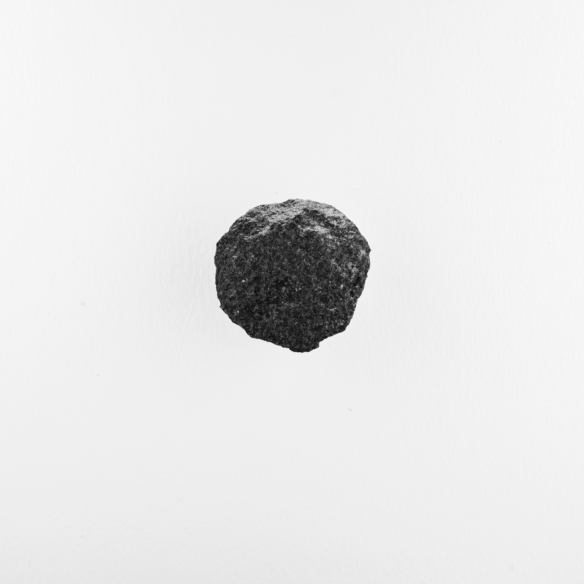 basalt, shard #5, side A. by Matt Niebuhr, 2010